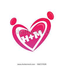 H M Hm Logo Stock Vector 568737826