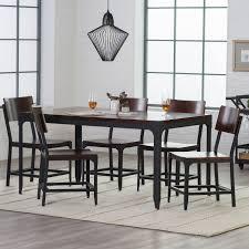 belham living trenton industrial end table belham living trenton wood and metal 7 piece dining set hayneedle