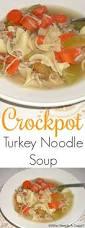thanksgiving egg noodles crockpot turkey noodle soup who needs a cape