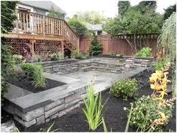 Steep Sloped Backyard Ideas Backyards Modern Landscaping Ideas For Downward Sloping Backyard
