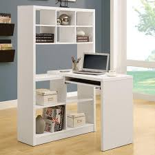 Corner Computer Desk With Bookcase 15 Modern Home Office Designs With Corner Furniture In Neutral Colors