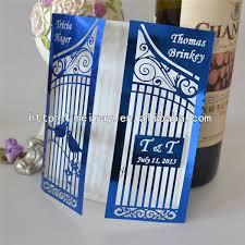 royal blue wedding invitations aliexpress buy royal blue wedding decoration birdcage