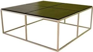 large square modern coffee table wholesale interiors c 506 yseult modern coffee table large square