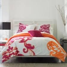 Orange Comforter Endearing Pink And Orange Comforter Sets Great Designing Home