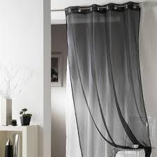 rideaux pas cher voilage noir today 135 x 240 cm rideaux voilages pas cher badaboum