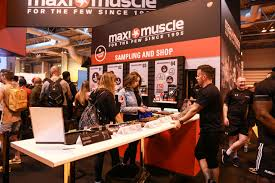 making gains with maximuscle at bodypower circle agency
