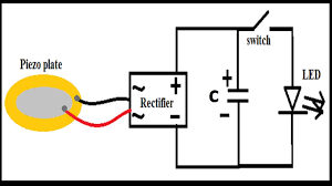 circuit diagram and component details of very sensitive pizeo