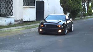 2011 mustang gt black 2011 mustang gt to gt500 black mamba conversion mp4
