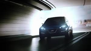 nissan leaf daytime running lights nissan sway concept teased previews 2016 nissan micra autoevolution
