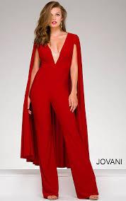 plunging neckline jovani dresses womens plunging neckline jersey cape