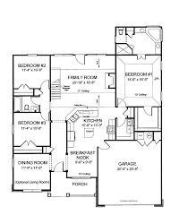house plans with open kitchen 2 open house plans large open kitchen hwbdo75200 traditional