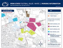 penn state park map gopsusports com additional soaked parking lots not available
