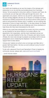 pastor joel osteen closes church during hurricane harvey daily