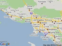 santa california map map of santa in santa ca