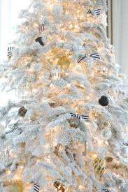 40 best flocked christmas trees images on pinterest flocked