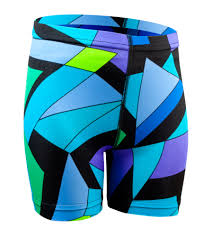cycling jacket with lights childs wild print spandex bike short black light bright colors