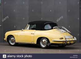 porsche convertible vintage yellow porsche 356 convertible in excellent condition