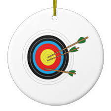 archery ornaments keepsake ornaments zazzle