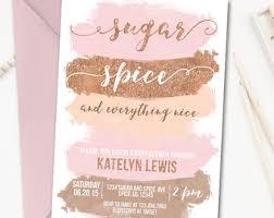 sugar and spice baby shower sugar spice shower etsy