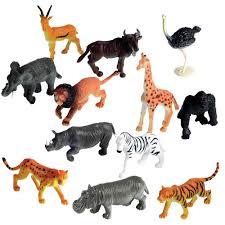amazon com learning resources jungle animals set of 60 toys