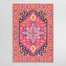 pink alessia area rug world market