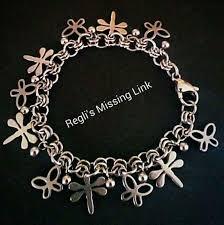 charm bracelet links images Childrens butterfly charm bracelet reglis missing link jpg