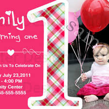 shop baby u0027s first birthday invitations on wanelo