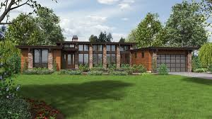 Modern Ranch Style Mascord House Plan 1240 House Plans Mud And Mud Rooms