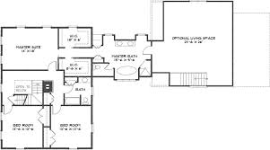 open space house plans colonial style house plan 3 beds 3 00 baths 2970 sq ft plan 530 2