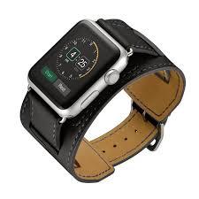 bracelet cuir montre images Bracelet en cuir montre bande pour hermes apple montre 42mm 38mm jpg