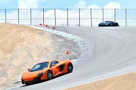 exotic cars lined up 2015 mclaren 650s track drive automobile magazine