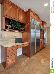 kitchen desk design kitchen desk area royalty free stock photos image 22336998