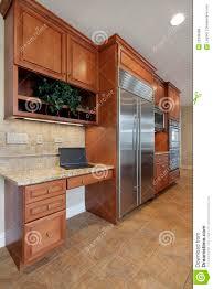 Kitchen Desk Design Kitchen Desk Area Royalty Free Stock Photos Image 22336998