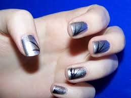 spifster inspired delicate line nail art chalkboard nails nail