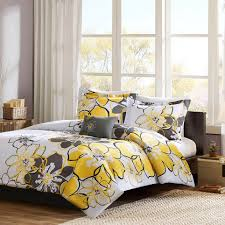 gray bedroom decorating ideas yellow and gray bedroom to get better sleeping quality