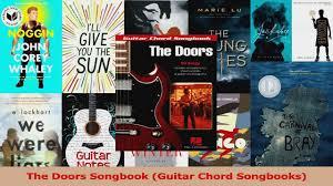 pdf download the doors songbook guitar chord songbooks download