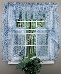 Curtains Blue Green Tiles Sheer Curtains Discount Tiers Swag U0026 Valance In Blue Green