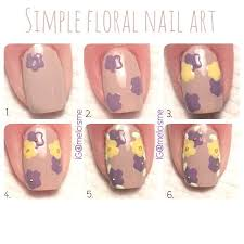 diy simple floral nail art pictures photos and images for