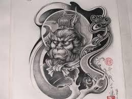 japanese monkey tattoo designs sun wukong tattoo google search