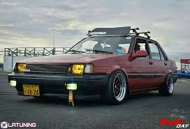stanced toyota corolla images tagged with latuningrd on instagram