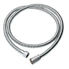 Grohe Pull Out Kitchen Faucet Relexa Longlife Metallic Hose Grohe Shower Hose Amazon Com