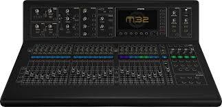 midas console open box midas m32 ip 40 channel digital mixing console chuck