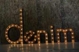 custom steel furniture vintage lighted letters and signs fosterweld
