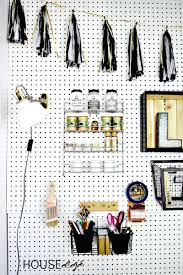 Pegboard Ideas by 31 Pegboard Ideas For Your Craft Room Happily Ever After Etc