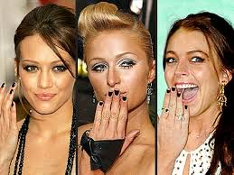 nail art designs exotic gothic celebrity nail art style