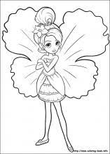 download barbie thumbelina coloring pages ziho coloring