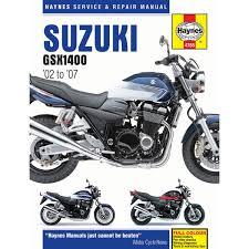 haynes manual 4758 suzuki gsx1400 02 07 ebay