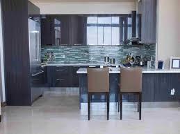 kitchen room wallpaper that looks like tile backsplash purple