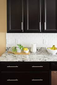 Installing Tile Backsplash In Kitchen How To Install A Subway Tile Kitchen Backsplash House