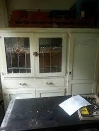 Kitchen Furniture Brisbane Vintage Bow Fronted Leadlight Kitchen Dresser Antiques Gumtree